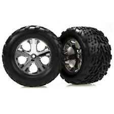 """Traxxas 3669 All-Star Chrome 2.8"""" Wheels/Talon Tires (2): Front Stampede 2wd VXL"""