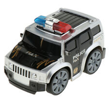 Friction Powered Police Car with Lights & Siren Sounds Toy Gift for Toddlers
