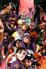 RGC Huge Poster - Marvel Super Heroes vs Street Fighter Sega Saturn PS1 - OTH519