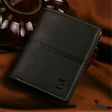 Luxury Men's Bifold Leather Wallet Credit Card Holder Billfold Purse Clutch