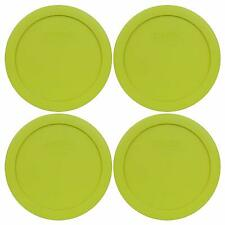 Pyrex 7201-Pc Round 4 Cup Storage Lid For Glass Bowls (4, Edamame Green)