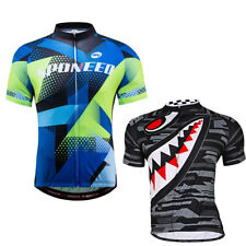 Biking Jerseys Short Sleeve Road Bike Clothing Tops Breathable Cycle Clothing