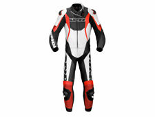 """Spidi """"Sport Warrior Touring"""" Motorcycle Leather Suit (2-Pc) Black/Red"""