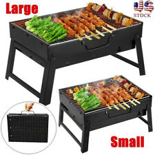Large Portable BBQ Barbecue Steel Charcoal Grill Outdoor Patio Garden Party USA