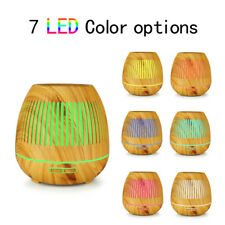 400ml Essential Oil Diffuser Ultrasonic Cool Mist Humidifier  7 Color LED Lights