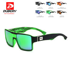 DUBERY Men Womens Polarized Sunglasses Driving Shades Cool Square Outdoor Shades
