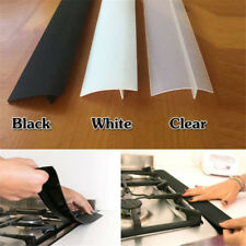1x Silicone Kitchen Stove Counter Gap Cover Oven Guard Spill Seal Filler HS66