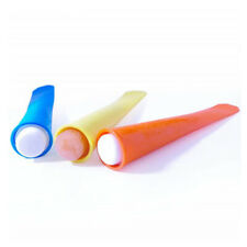 Silicone Ice Lolly Maker Ice Pops Smoothie Yogurt Popsicle Mould DIY Tube