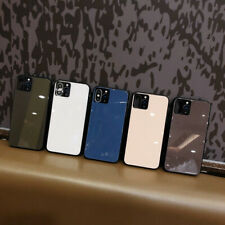 For iPhone 11 Pro Xs Max X 7 8 Plus Shockproof Tempered Glass Back Case Cover