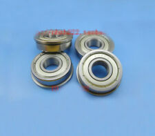 10pcs SF6800ZZ Flange Cup Stainless steel Flanged Bearing SF6800-2RS 10x19x5mm
