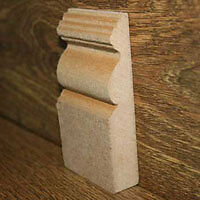 MDF Skirting Boards First Board only £5 (min 5)