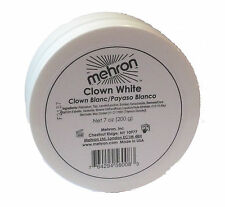 Mehron Clown White 8 oz Costume Make Up 130