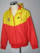 Spain Nike yellow/red hooded polyester windrunner football team jacket 278523