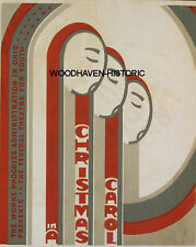 WPA  in Ohio Presents A Christmas Carol Poster