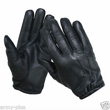TACTICAL POLICE  KEVLAR®LINER CUT RESISTANT PATROL DUTY SEARCH GLOVES