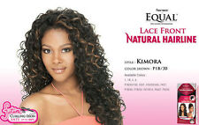 KIMORA - FREETRESS EQUAL LACE FRONT NATURAL HAIRLINE LONG CURLY WIG
