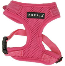 Pink Superior Puppia Dog Harness Soft Adjustable Neck & Chest Authentic Original