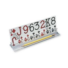 PLAYING CARD HOLDER WITH LOW VISION CARDS new poker