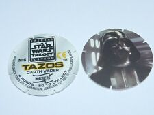 Star Wars Trilogy Tazos - Luke & Darth Vader & Boba Fett (Number 6, 38 or 44)