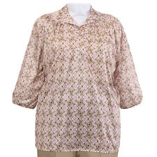 A Personal Touch Blouse Plus 1X NWT Womens Shirt