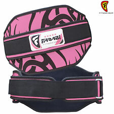 Weight Lifting Belt Gym Fitness Back Support Training Belt Pink