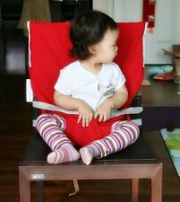 Portable Travel High Chair Seat Cover / Dining Baby Fablic Seat