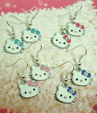 Cute Ladies & Girl's, Children's Hello Kitty Earrings. Gifts, Party Bag Filler