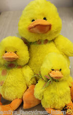 EASTER Chick DUCK  Childs Soft CUDDLY TOY Present Gift Large Medium Small