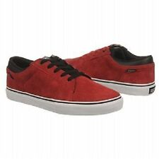 DVS STAFFORD Mens Skate Shoes (NEW) 9.5-14 Bruise Control : RED SUEDE Free Ship!