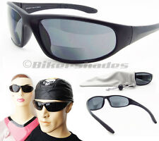 BIFOCAL reading sun glasses smoke sunglasses red blue sport 1.50 2.00 2.50 3.00