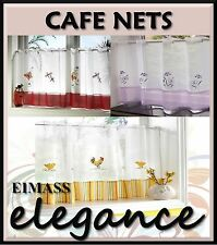 Voile Cafe Net Curtain - 17 Great Designs - 34 Choices - Simply Beautiful