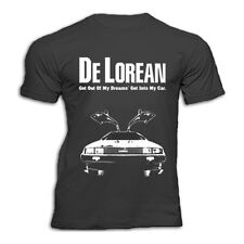 DELOREAN GET OUT OF MY DREAMS 80s   T SHIRT