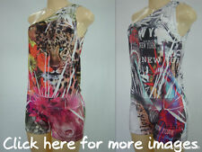 SEXY FLORAL/ANIMAL/NEW YORK PRINT JUMPSUIT CATSUIT ROMPERS SHORTS
