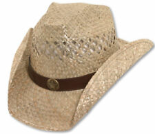 Brett Michaels Western Cowboy Straw Hat Star Concho Be a Rockstar NWT BUY NOW!