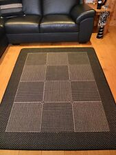 Small Extra Large Black And Grey Silver Non Slip Kitchen Floor Mats Rugs