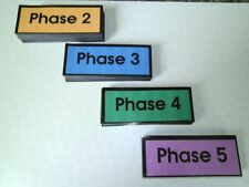 EYFS First 100 High Frequency flash cards Phases 2-5 NEW available also part cut