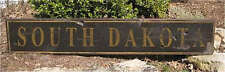 SOUTH DAKOTA - Rustic Hand Painted Wood Sign