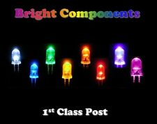 Ultra Bright LEDs 3mm/5mm/10mm Red,Blue,White,Green,Yellow,Pink,UV,Orange