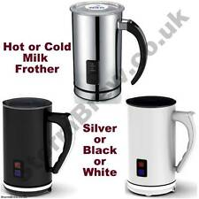 MESETA ELECTRIC MILK FROTHER. HOT & COLD MILK. CAPPUCCINO, LATTE, HOT CHOCOLATE