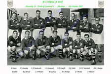 AUSTRALIA 1947 (v North of Scotland, 8th October) RUGBY TEAM PHOTOGRAPH