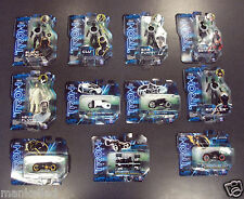 TRON LEGACY ACTION FIGURES & LIGHT CYCLES KEVIN FLYNN SAM FLYNN CLU CLU'S SENTRY
