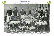 SCOTLAND 1894 (v England, 17th March ) RUGBY TEAM PHOTOGRAPH