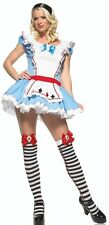 Adorable Alice Costume wRed Trimmed Apron Sexy Alice In Wonderland Costume 83393