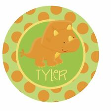 Dinosaur Roar {Triceratops} Edible ROUND Cake Topper Decoration