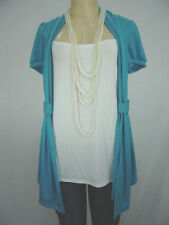 SEXY PLUS SIZE TOP WITH THE ATTACHED TANK TOP INSIDE AND A NECKLACE (1X,2X,3X)