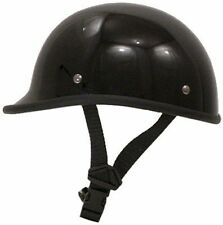 VOSS POLO STYLE NOVELTY GLOSS BLACK HELMET - FREE & FAST SHIPPING!