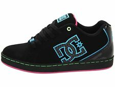 DC COSMO SE Womens Skate Shoes (NEW - FREE SHIP) ladies girls BLACK / TURQUOISE