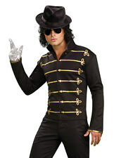 Michael Jackson Licensed Military Jacket Halloween Costume 80s MJ 889329