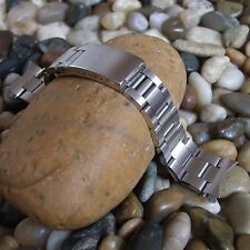 Solid Stainless Steel Watch Strap for OYSTER Straight or Curved End 20 mm Wide