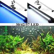 Aquarium Fish Tank 30 42 57 LED Bar Submersible Strip Light Decorate Waterproof